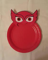 pj masks plates lilshopofjoy etsy stuff