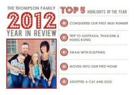 year in review christmas card mixbook modern year in review christmas card this is cool