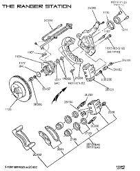 2000 ford ranger steering wheel ford ranger bronco ii wheels brakes steering