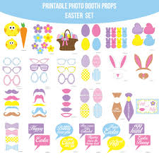 easter photo props instant easter printable photo booth prop set amanda