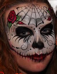 Sugar Skull Halloween Costumes 97 Sugar Skull Creepy Face Painting Images