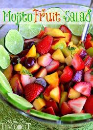 mojito fruit salad on timeout