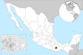 Map Of Oaxaca Mexico by File Mexico Location Of Oaxaca Svg Wikimedia Commons