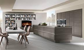 wooden kitchen ideas handleless wood effect kitchen woodgrain