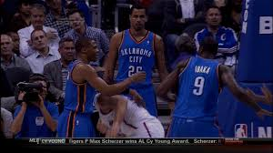 Matt Barnes Fight Serge Ibaka And Matt Barnes Ejected After Fight Breaks Out During