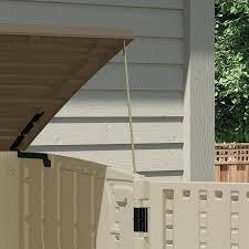 Suncast Resin Glidetop Outdoor Storage Shed by Amazon Com Suncast Bms3400 34 Cu Ft Horizontal Shed Garden