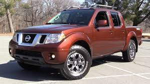 nissan frontier 2016 nissan frontier pro 4x crew cab start up off road test