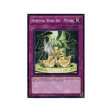 Windart Sddl En038 Spiritual Wind Art Miyabi Yu Gi Oh From Magic