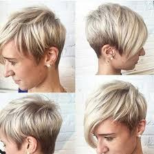 Kurzhaar Blond Frisuren by Die Besten 25 Flotte Kurzhaarfrisuren Ideen Auf