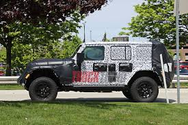 2018 jeep wrangler spy shots 2018 jeep jl wrangler spied spy photos price release date