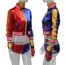 aliexpress com buy 8 pcs harley quinn costume squad