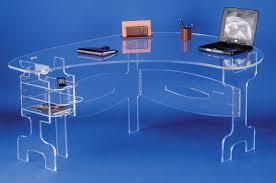 bureau plexi bureaux et tables plexiglas