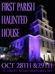 halloween in bedford first parish haunted house returns to the
