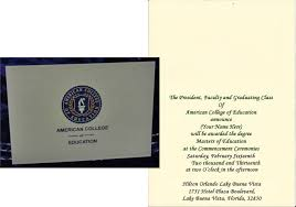 college announcements american college of education graduation announcement everything