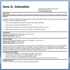 download veterinary technician sample resume