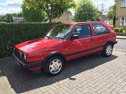 volkswagen fox 1989 vw golf 1 8 gti 8v tornado red 3dr 1989 mk2 small bumper