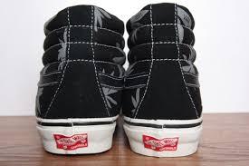 Jual Vans Vault Og vans vault sk8 hi lx og palm leaf black white sneakerfiles