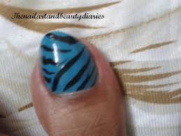 zebra pattern nail art easy at home nail art 11 zebra nail art for foot the nail art