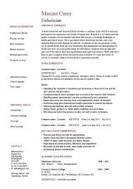 esthetician resume exles should my resume be one page cover letter