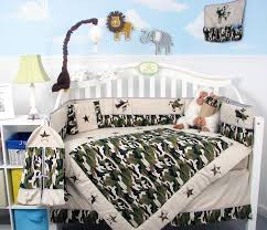 Boy Nursery Bedding Set by Amazon Com Soho Boy Camouflage Army Baby Crib Nursery Bedding