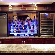 Lighted Bar Cabinet Fantastic Lighted Bar Cabinet Lighted Back Bar Shelving Liquor