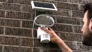 Home Depot Solar Motion Lights Trending In The Aisles Defiant Solar Powered Security Lighting
