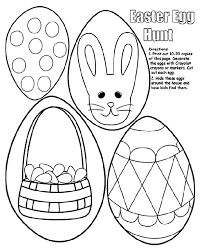 Easter Decorations To Print Off by Easter Egg Hunt Crayola Co Uk