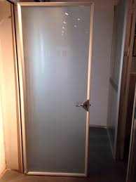 frosted glass french door bathroom frosted glass bathroom door determining the funny