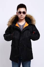 seibertron men s n 3b slim fit parka with removable faux fur hood