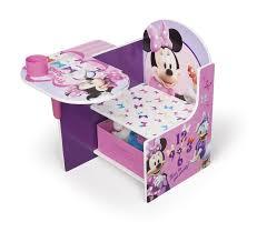 Kid Desk Chair Delta Children Minnie Desk Chair With Storage Compartment And