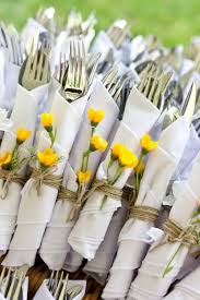 wedding silverware backyard wedding by jess dewes photography twine wildflowers