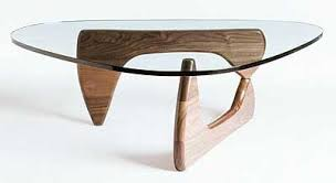 Noguchi Glass Coffee Table Extraordinary Noguchi Glass Coffee Table In Home Design Planning