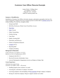 shipping and receiving resume objective examples sample resume skills for customer service inspiration decoration customer service officer sample resume womens rights in customer care officer resume exle customer service officer