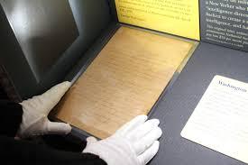 george washington letter returns to international spy museum for