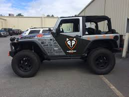 chevy jeep sema show jeep build custom vinyl wrap rightline gear