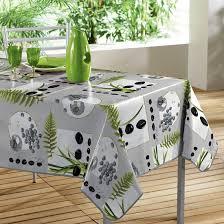 nappe de cuisine rectangulaire decorline nappe pvc photoprint jardin 140 x 240 cm amazon fr