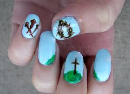 joyous easter nail designs easy easter nail art ideas to relieving