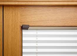 Blinds For Uk Finesse Oak 1 8m Approx 6ft Internal Bifold Door Blinds Vufold