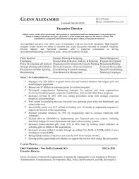 executive director resume sle executive director resume paso evolist co