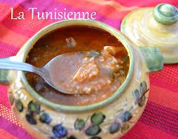 cuisine tunisienne poisson chorba frik au poisson