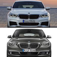 photo comparison bmw 6 series gt vs 5 series gt