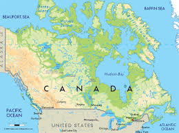 Canada On A Map Road Map Of Canada And Canadian Maps New Lapiccolaitalia Info