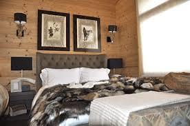 deco chambre montagne air de montagne décoration emmanuelle de kalbermatten décoration