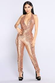 gold jumpsuit the thrill sequin jumpsuit gold