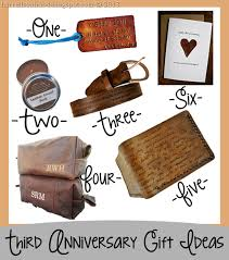 third anniversary leather gift ideas for him etsy finds unique