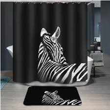 3d cartoon shower curtains 9 style 3d animal squirrel panda shower