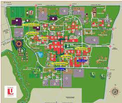 University Of Washington Campus Map by York University Keele Campus Map
