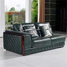 canap allemagne allemagne salon canapé en cuir avec en bois courbe poltrona par