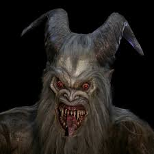 giant krampus and child animated unit 70 studios