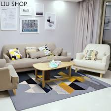 nordic living room liu simple modern fashion nordic living room carpet geometric